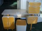 화장대+의자+서랍