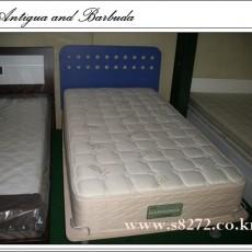 침대 싱글 통깔판 불루